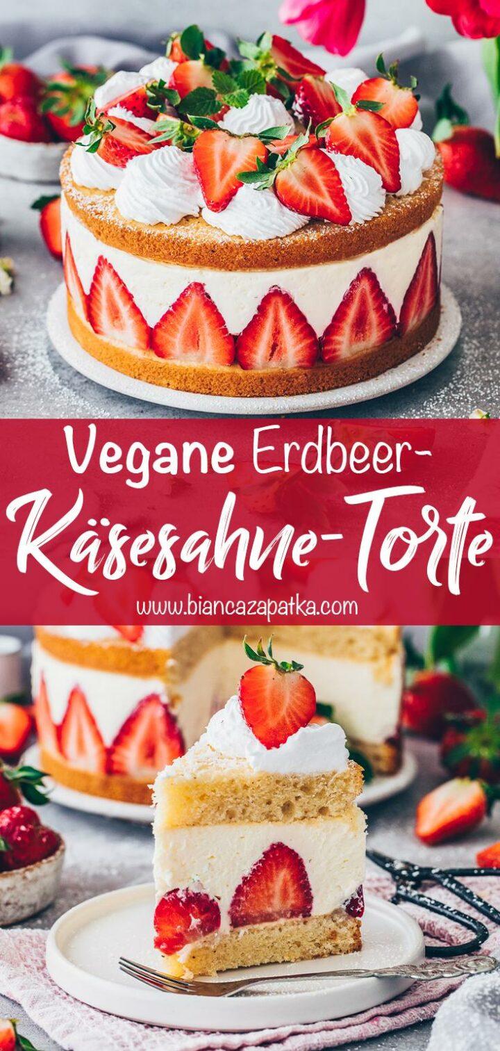 Erdbeeren-Käsesahne-Torte