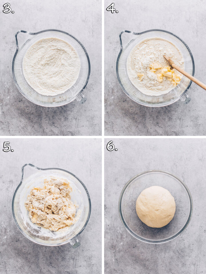 how to make yeast dough for burger buns