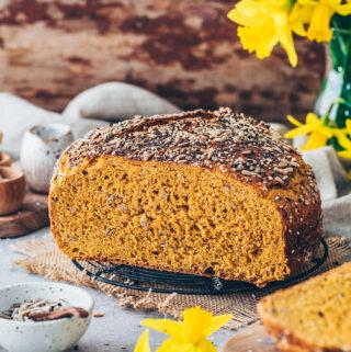 Spelt Bread with Carrots