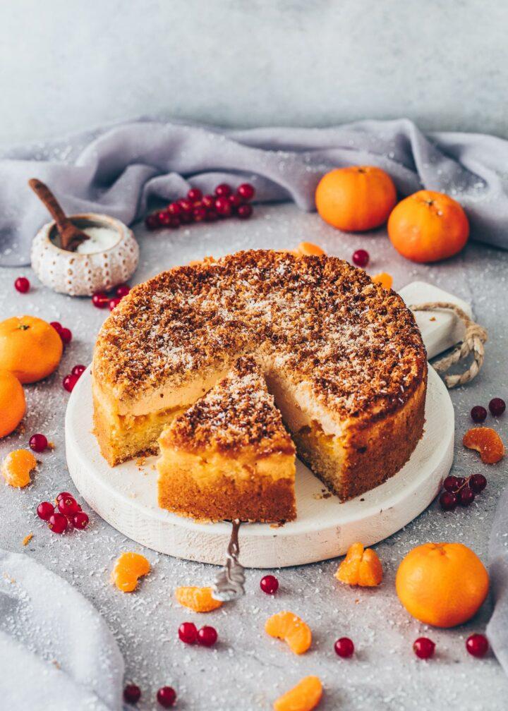 Mandarin Coconut Cake