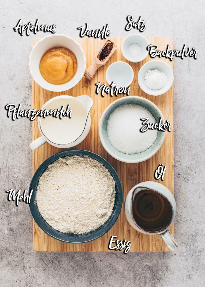Mandarinen-Schmand-Kuchen Zutaten