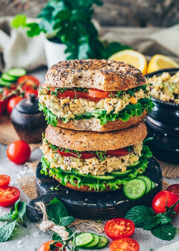 Chickpea Salad No Tuna Sandwich