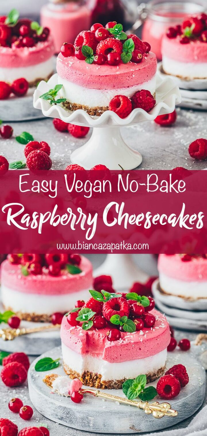Raspberry Cheesecake (Mini Dessert Cakes)