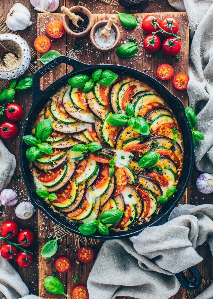 Ratatouille mit Gemüse