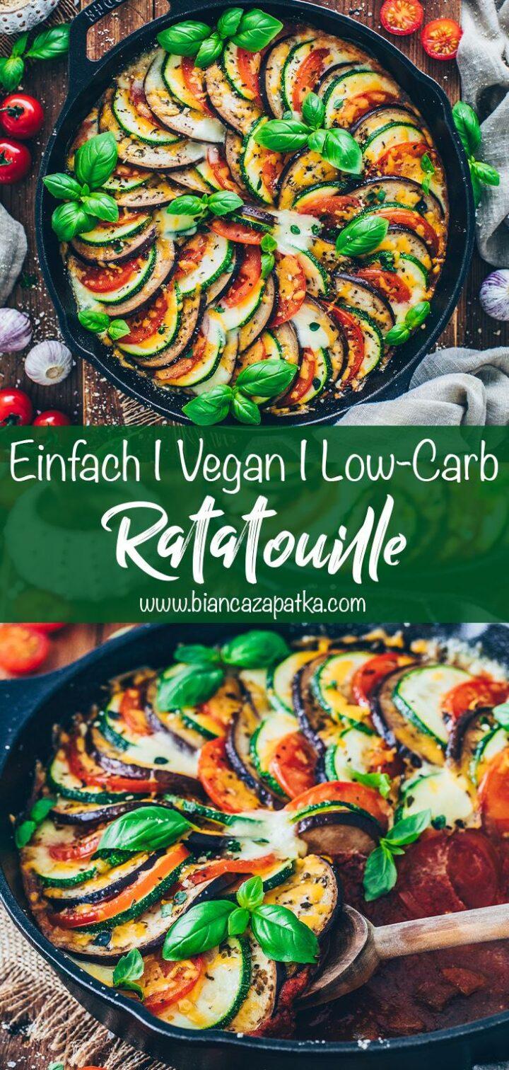 Ratatouille - Gemüse-Auflauf mit Zucchini, Auberginen und Tomaten