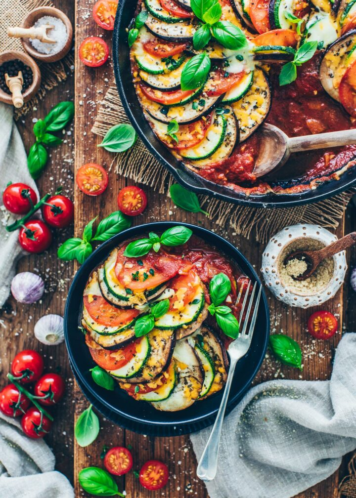 Ratatouille (Easy French Eggplant Zucchini Stew)