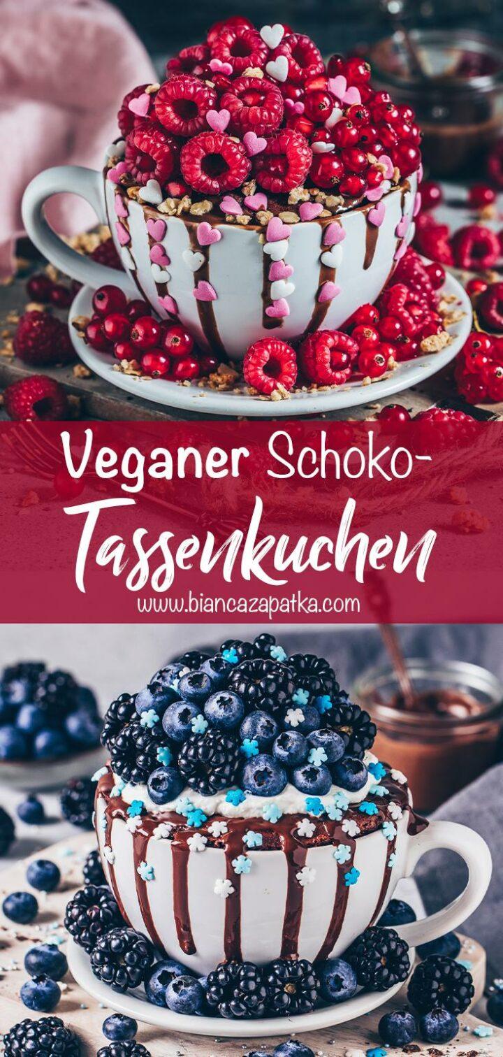 Schoko-Tassenkuchen (Vegan Mug Cake)