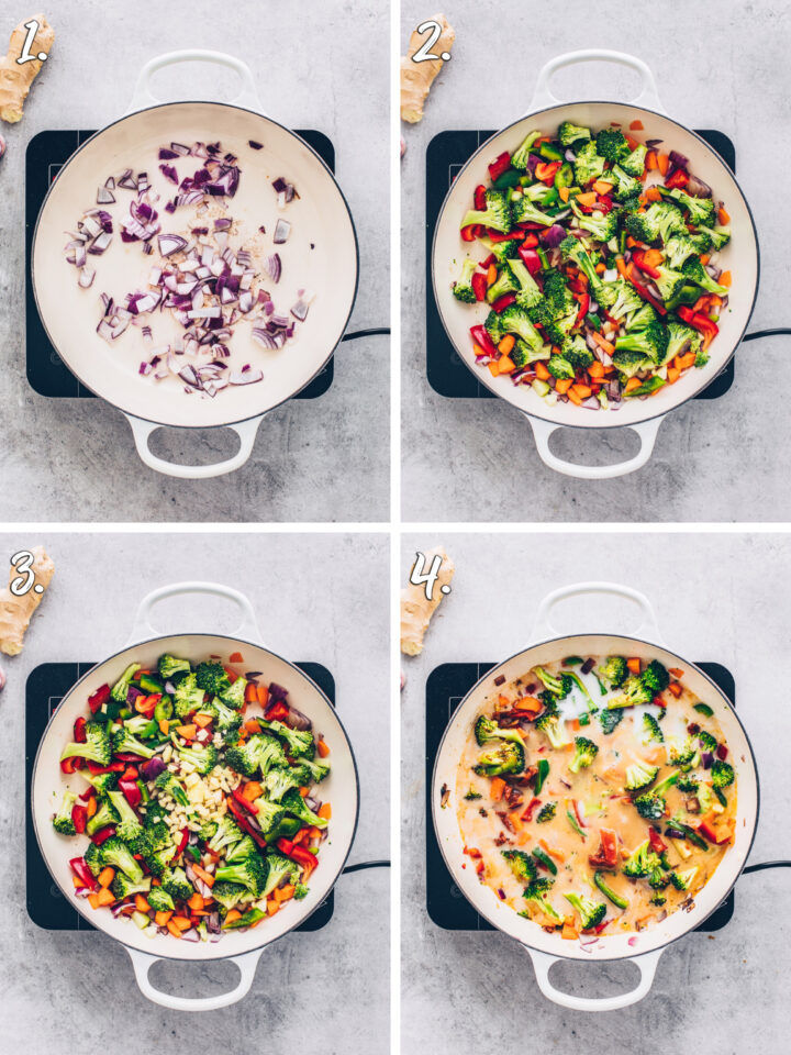 How to make Thai Curry step by step