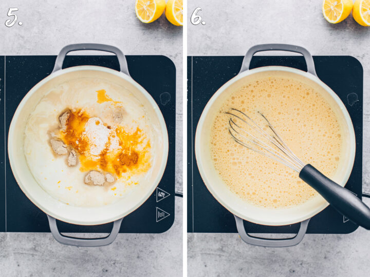 How to make vegan lemon curd