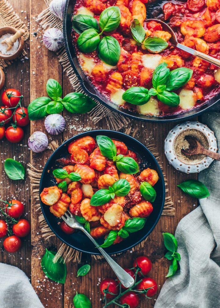 Gnocchi Tomato Casserole