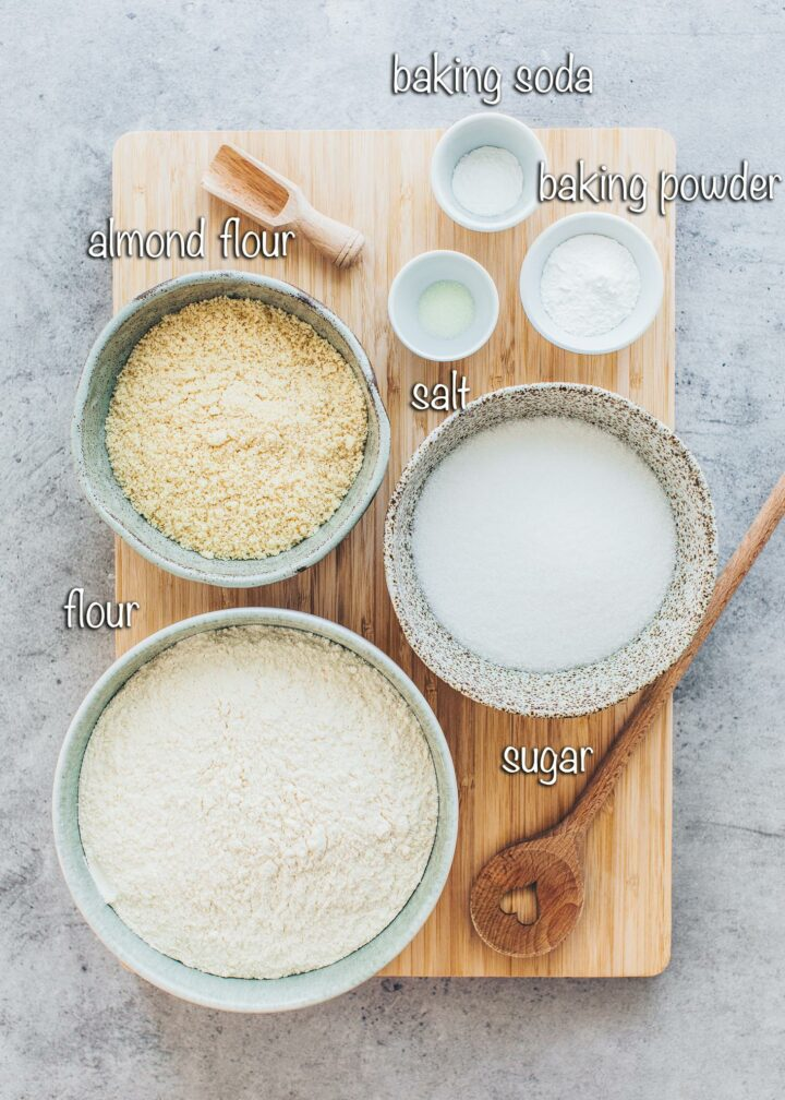 Almond Cake - Dry Ingredients