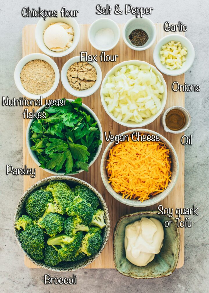 Broccoli Cheese Nuggets Ingredients