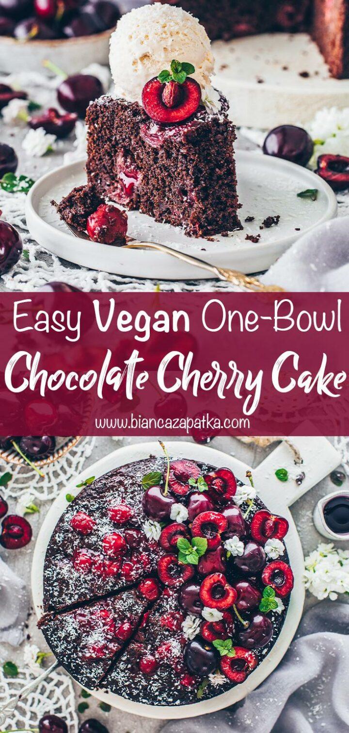 Chocolate Cherry Cake (Vegan)