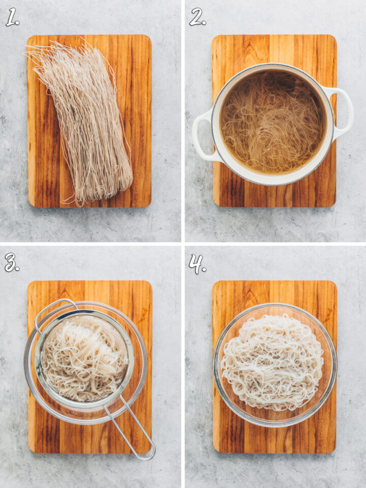 How to cook glass noodles (Dangmyeon)