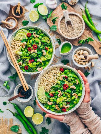Thai Green Curry with Vegetables (Vegan)
