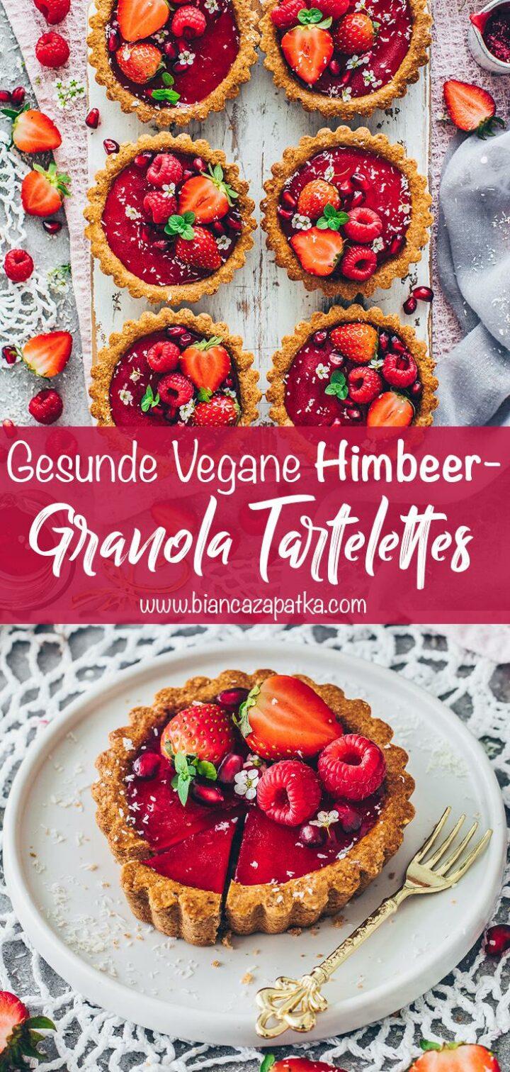 Tartelettes mit Himbeeren und Erdbeeren