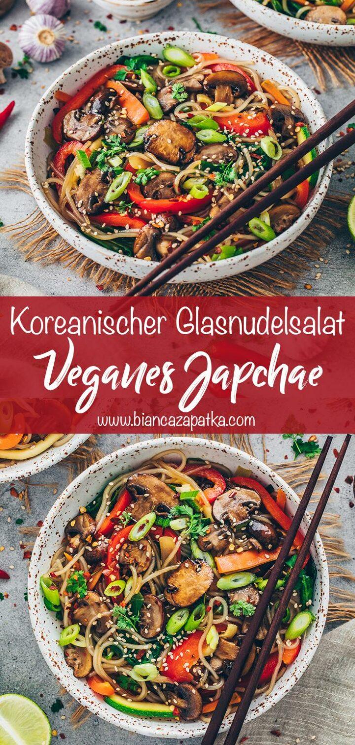 Japchae - Koreanischer Glasnudelsalat