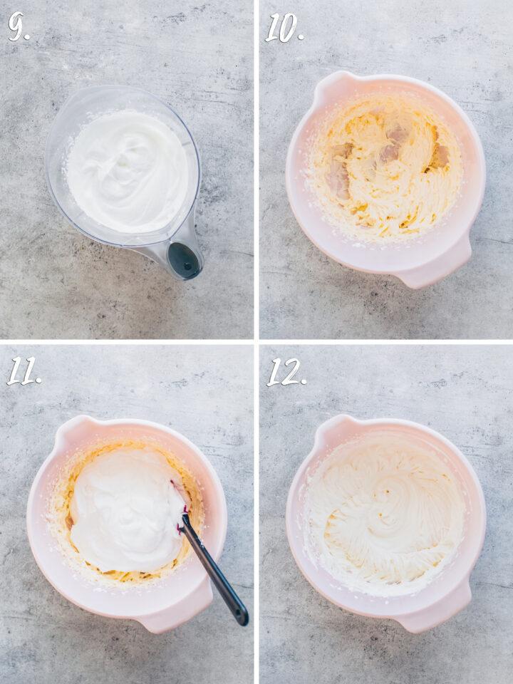 Torten-Creme mit Sahne herstellen