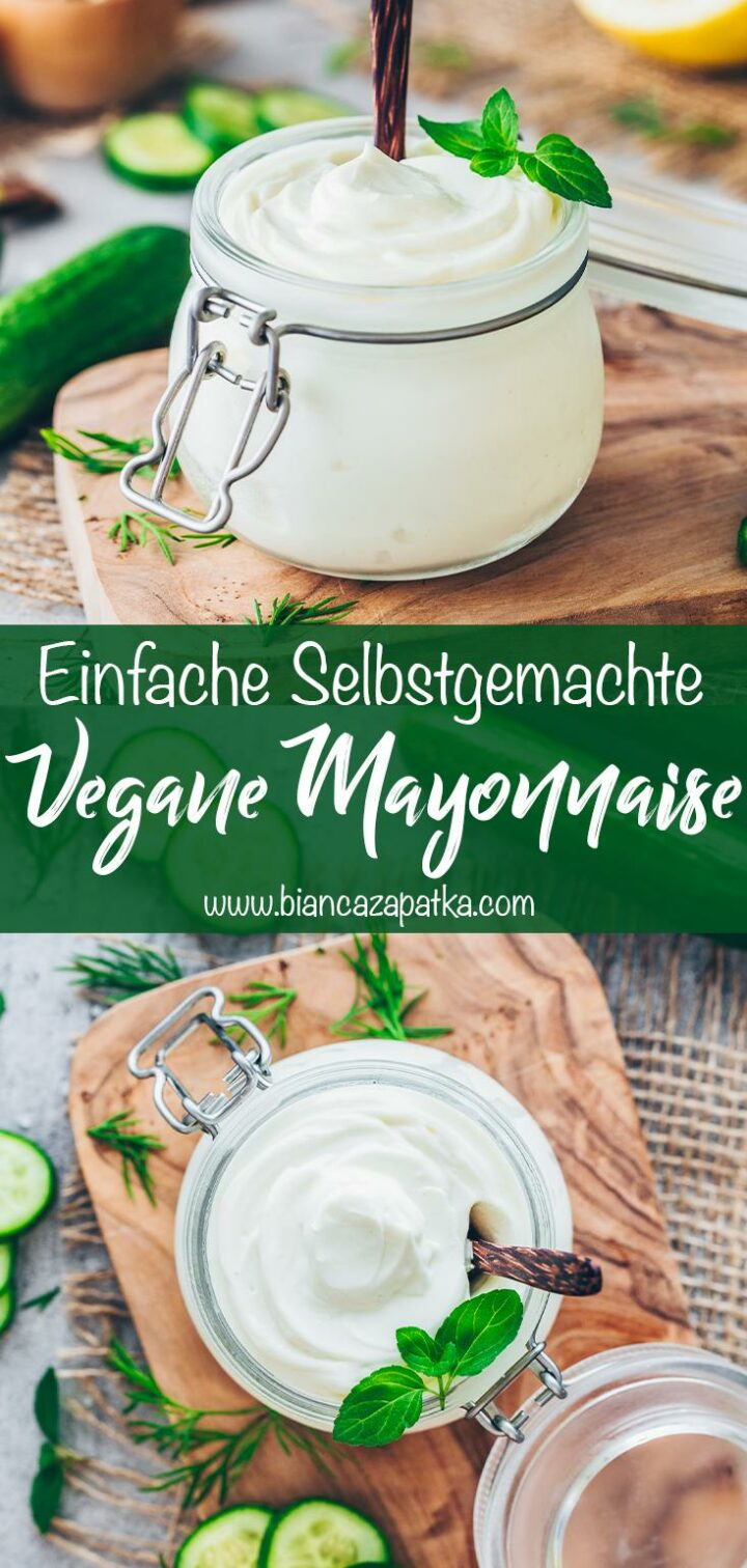 Vegane Mayonnaise selber machen Rezept