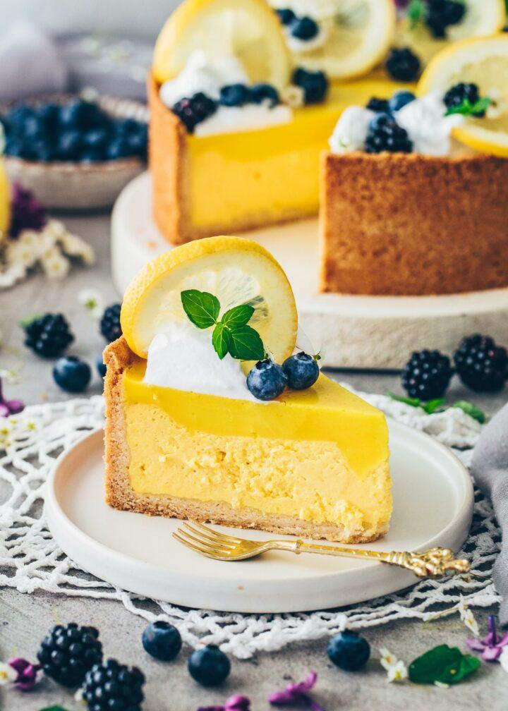 Zitronen Cheesecake