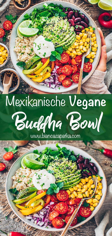 Vegane Burrito Bowl (Mexikanische Buddha Bowl)