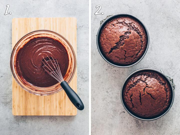 Schokoladenkuchen backen Anleitung