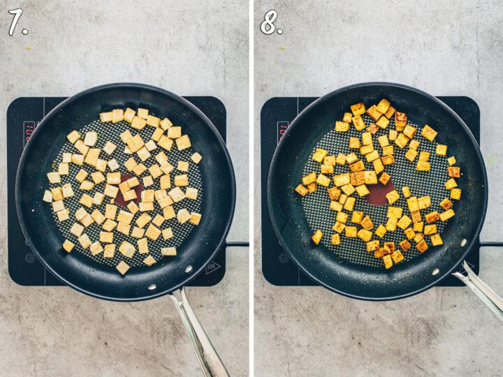 Tofu knusprig braten