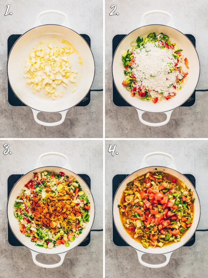 Paella selber machen Rezept-Anleitung