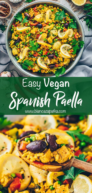 Vegan Paella (Spanish Rice Stir-fry)