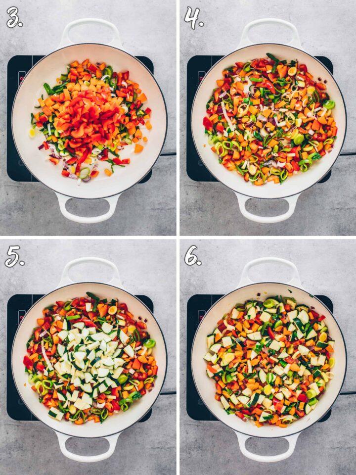Gemüse-Pfanne Rezept