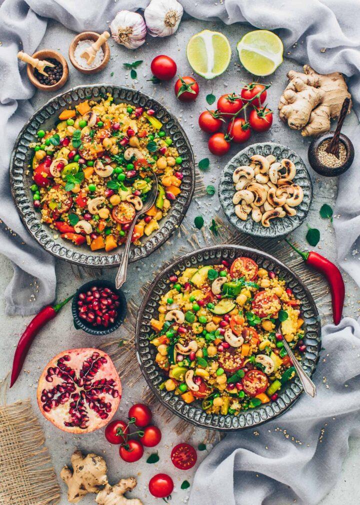 Quinoa Vegetable Stir-Fry