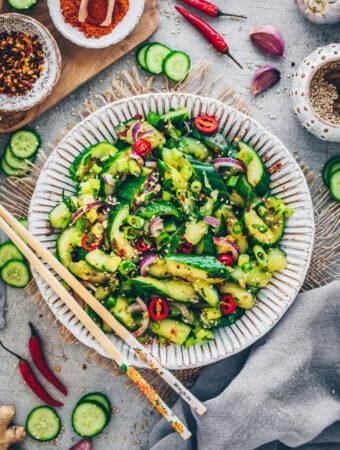 Chinese Smashed Cucumber Salad
