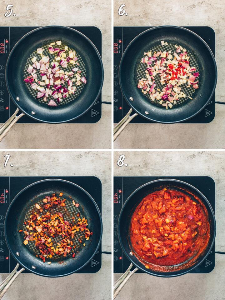 Salsa selber machen (Tomatensauce Rezept)