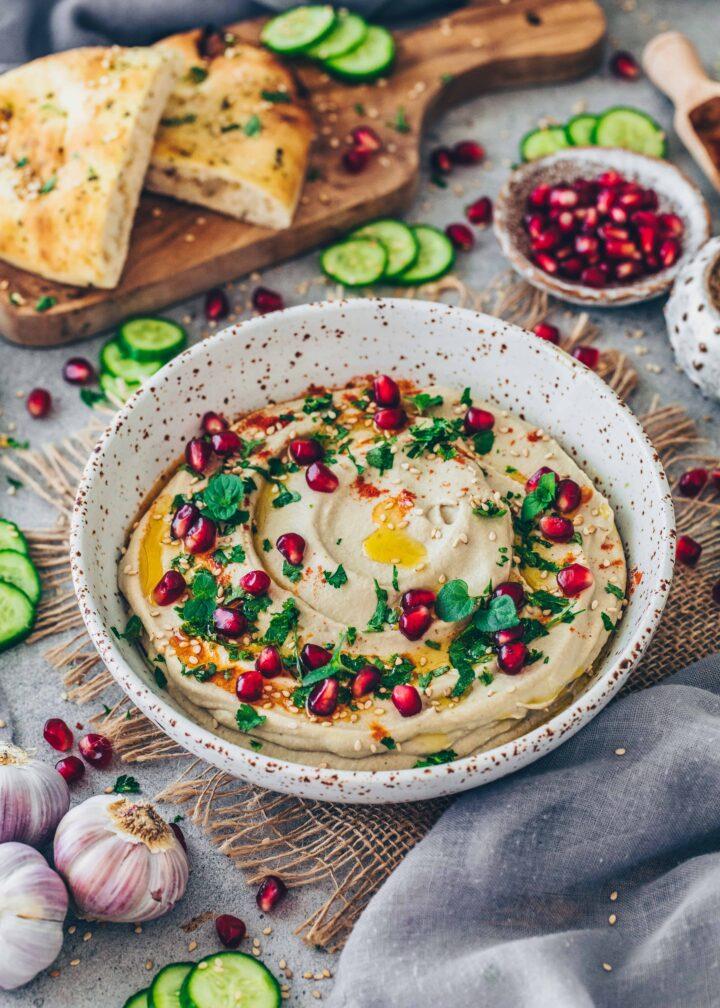 Baba Ganoush eggplant dip