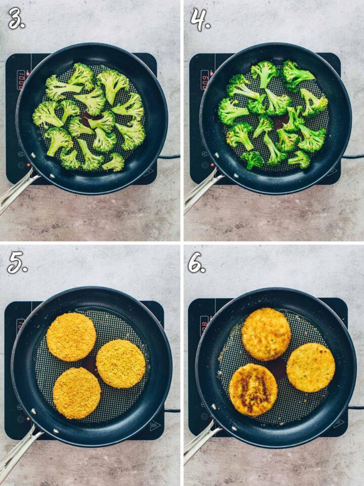 How to make Broccoli Burger