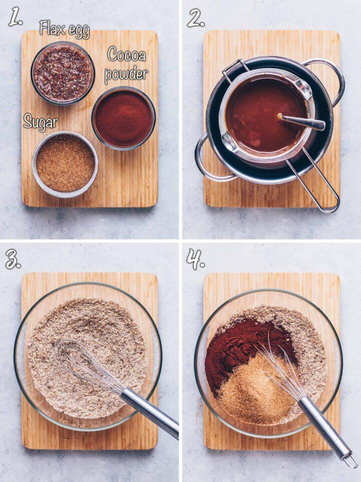 How to make chocolate hazelnut brownies