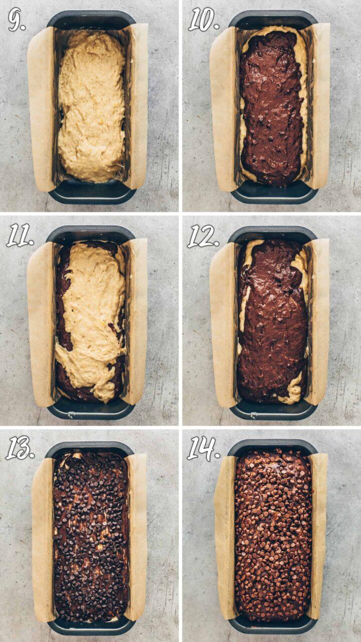 Chocolate Peanut Banana Bread