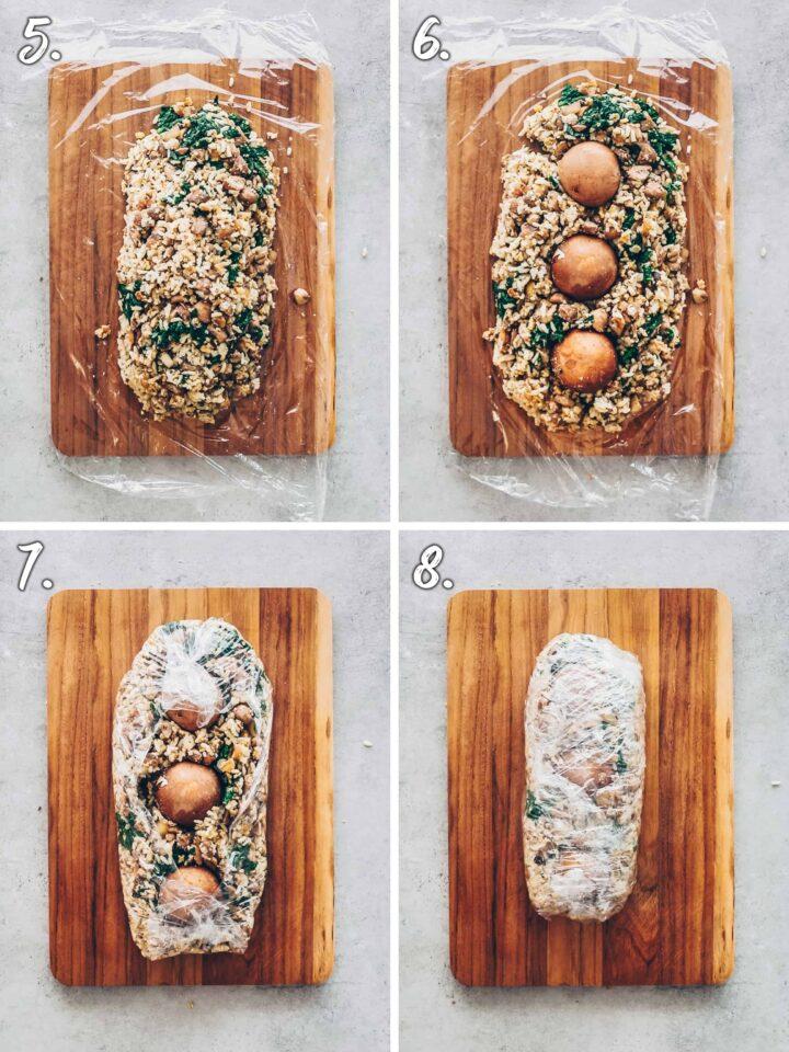 How to make Mushroom Wellington - step-by-step instruction